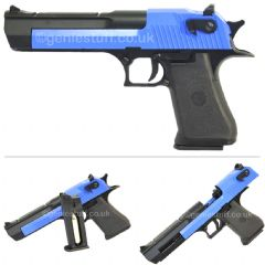 Blue KWC CO2 Blowback Airsoft Desert Eagle .50
